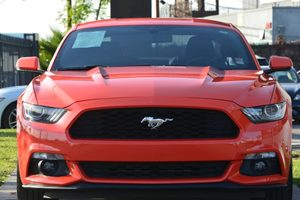 2015 Ford Mustang EcoBoost Carfax 1-Owner  Competition Orange 25492 Per Month -ON APPROVED C