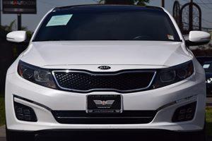 2015 Kia Optima SXL Turbo Carfax 1-Owner - No AccidentsDamage Reported  Snow White Pearl 248