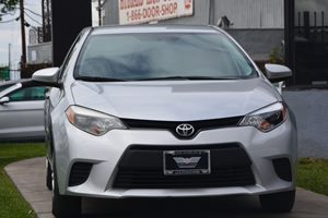 2015 Toyota Corolla L Carfax 1-Owner - No AccidentsDamage Reported  Classic Silver Metallic