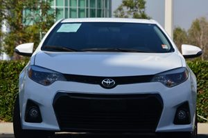 2015 Toyota Corolla S Carfax 1-Owner - No AccidentsDamage Reported  Super White 18347 Per M