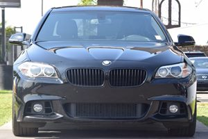 2015 BMW 5 Series 535i Carfax 1-Owner  Black 34492 Per Month -ON APPROVED CREDIT--- --