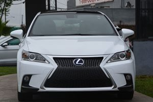 2015 Lexus CT 200h F-Sport Carfax 1-Owner  White 307 Per Month -ON APPROVED CREDIT---  -