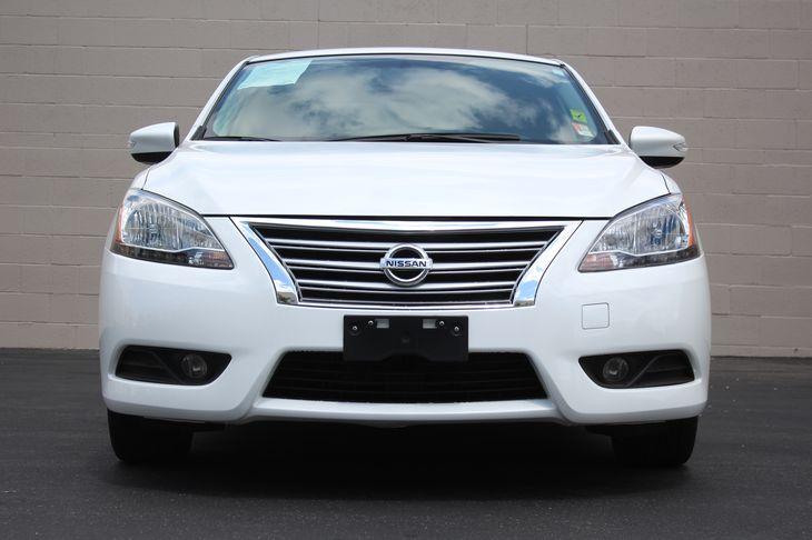 2015 Nissan Sentra SL  Aspen White TAKE ADVANTAGE OF OUR PUBLIC WHOLESALE PRICING GOING ON RI
