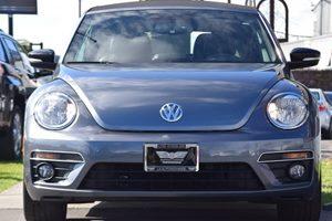 2013 Volkswagen Beetle Convertible Turbo PZEV Carfax 1-Owner  Platinum Gray Metallic 17047 P