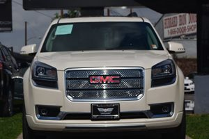 2015 GMC Acadia Denali Air Conditioning Multi-Zone AC Convenience Engine Immobilizer Convenie