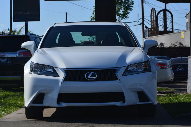 2015 Lexus GS 350 F-Sport Dual Stainless Steel Exhaust Engine V6 Cylinder Engine Fuel System P