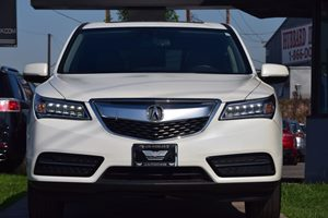2015 Acura MDX wTech  White Diamond Pearl  We are not responsible for typographical errors Al