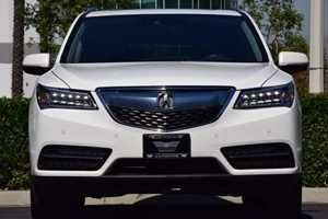 2016 Acura MDX wAdvance wRES  White Diamond Pearl  We are not responsible for typographical e