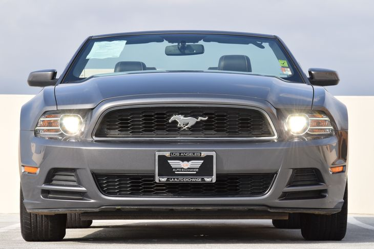 2014 Ford Mustang V6 Analog Display Audio Mp3 Player Compass Drivetrain Rear Wheel Drive Pas