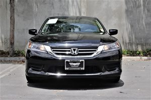 2015 Honda Accord Sedan LX  Crystal Black Pearl  All advertised prices exclude government fees