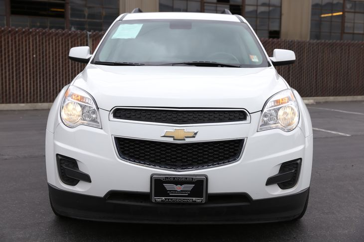 2015 Chevrolet Equinox LT  White  All advertised prices exclude government fees and taxes any