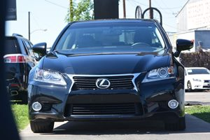 2014 Lexus GS 350 Base Black Grille WChrome Surround Convenience Leather Steering Wheel Front