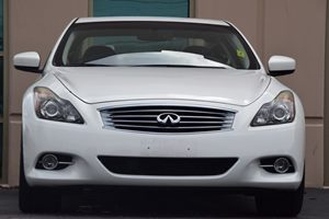 2011 INFINITI G37 Coupe Journey  Moonlight White 22244 Per Month -ON APPROVED CREDIT---