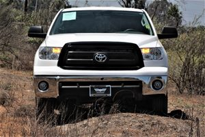 2013 Toyota Tundra 2WD Truck Grade  Super White   All advertised prices exclude government fee