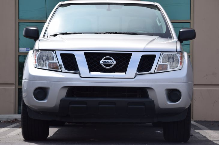 2016 Nissan Frontier SV Engine V6 Cylinder Engine Front Anti-Roll Bar Hydraulic Power-Assist Sp