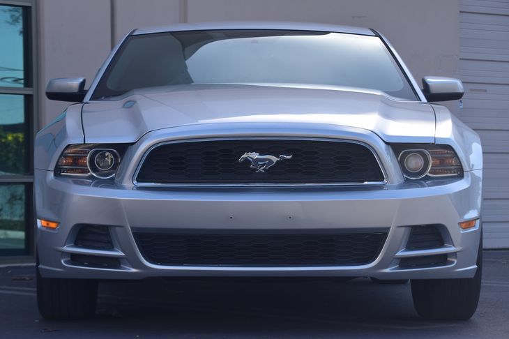 2014 Ford Mustang V6 Premium  Ingot Silver Metallic 17697 Per Month -ON APPROVED CREDIT---
