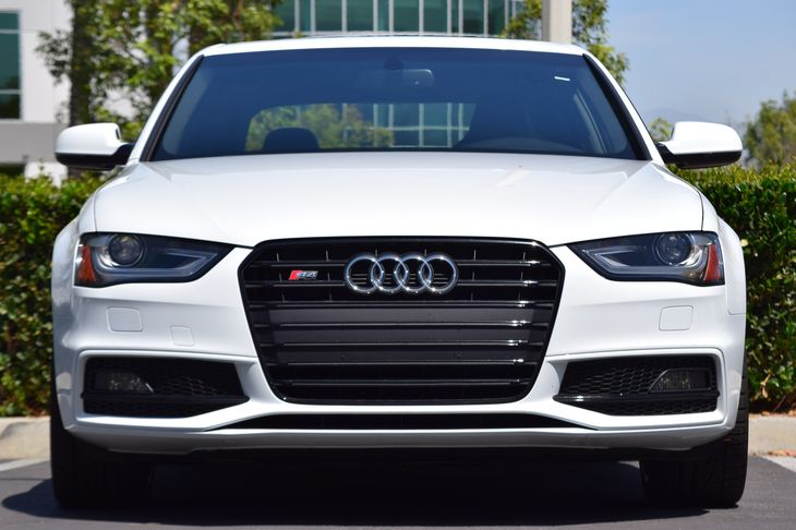 2015 Audi S4 30T quattro Premium  White 4334 Per Month -ON APPROVED CREDIT---  ---  S
