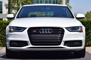 2015 Audi S4 30T quattro Premium  White 4334 Per Month -ON APPROVED CREDIT---  ---  S