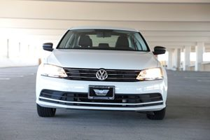 2015 Volkswagen Jetta Sedan S  Pure White 14911 Per Month -ON APPROVED CREDIT--- ---