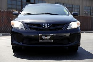 2012 Toyota Corolla LE  BLACK  We are not responsible for typographical errors All prices list