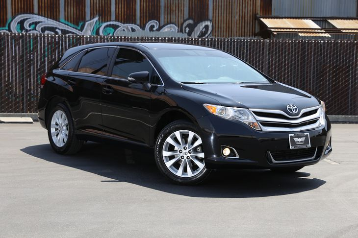 2015 Toyota Venza LE  Attitude Black  All advertised prices exclude government fees and taxes