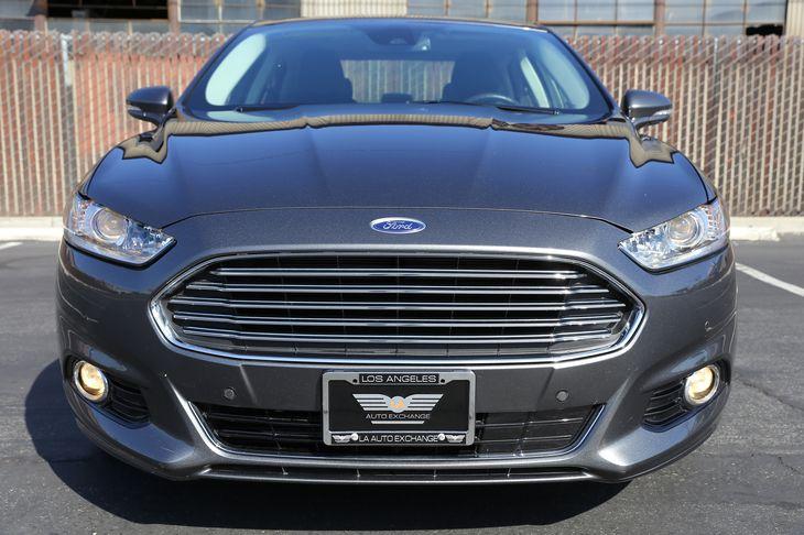 2015 Ford Fusion Energi Titanium Air Conditioning Multi-Zone AC Audio Auxiliary Audio Input A