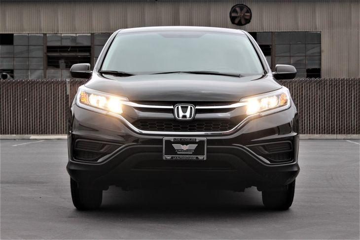 2016 Honda CR-V LX Convenience Steering Wheel Audio Controls Crystal Black Pearl TAKE ADVANT