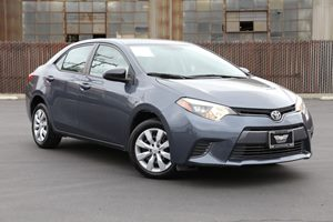 2015 Toyota Corolla LE Audio Auxiliary Audio Input Audio Mp3 Player Automatic Air Conditioning