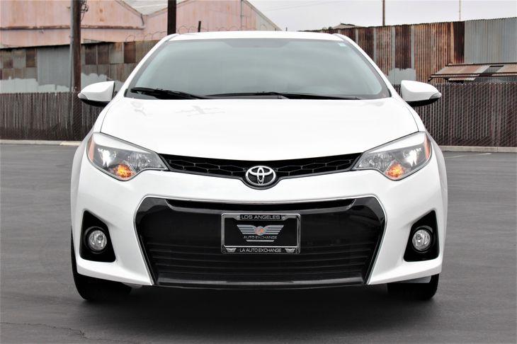 2015 Toyota Corolla S Engine 4 Cylinder Engine Passenger Capacity 5 Super White TAKE ADVAN