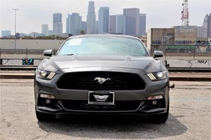 2017 Ford Mustang EcoBoost Premium Convenience Adjustable Steering Wheel Convenience Automatic