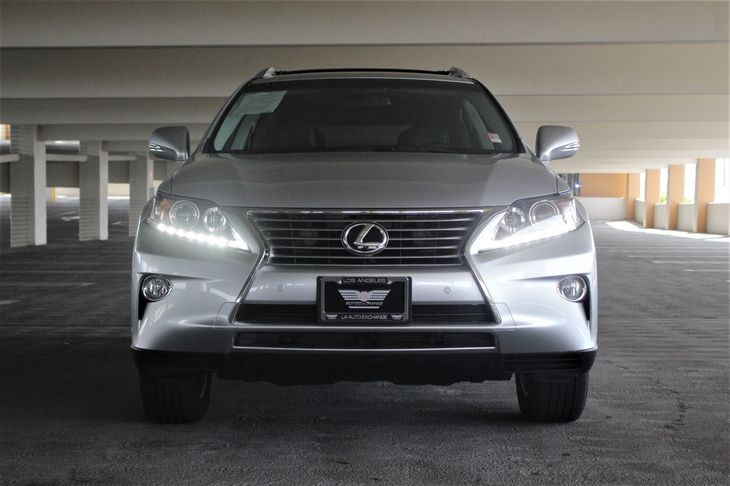 2015 Lexus RX 350 Base Electric Power-Assist Speed-Sensing Steering Fully Automatic Projector Bea