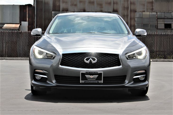 2015 INFINITI Q50 Base Convenience Leather Steering Wheel Convenience Steering Wheel Audio Cont