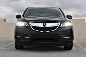 2016 Acura MDX Base Audio Theft Deterrent Mirrors Heated Mirrors Passenger Capacity 7 Tire -
