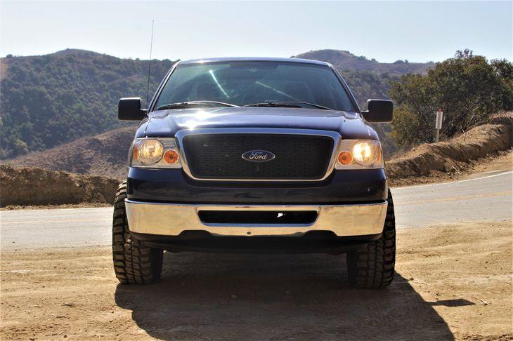 2007 Ford F-150 XLT 54L 24-Valve Efi Ffv V8 Engine Brakes 4-Wheel Disc Brakes Front Stabilizer