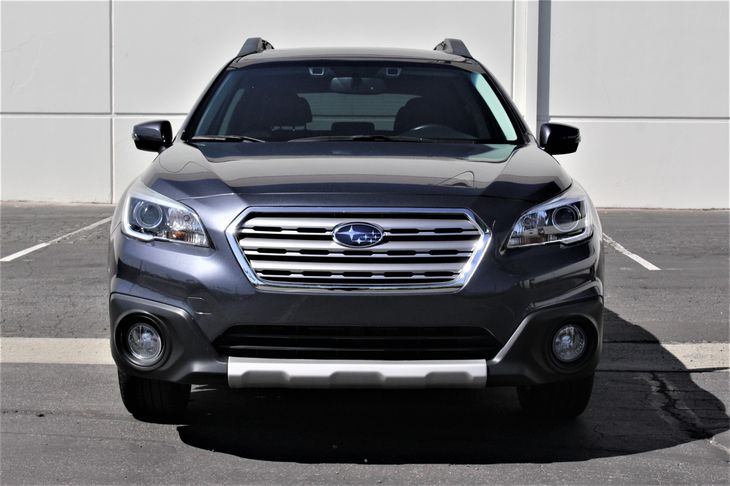 2015 Subaru Outback 25i Limited Front And Rear Anti-Roll Bars Fuel Economy 25 Mpg City  33 Mpg