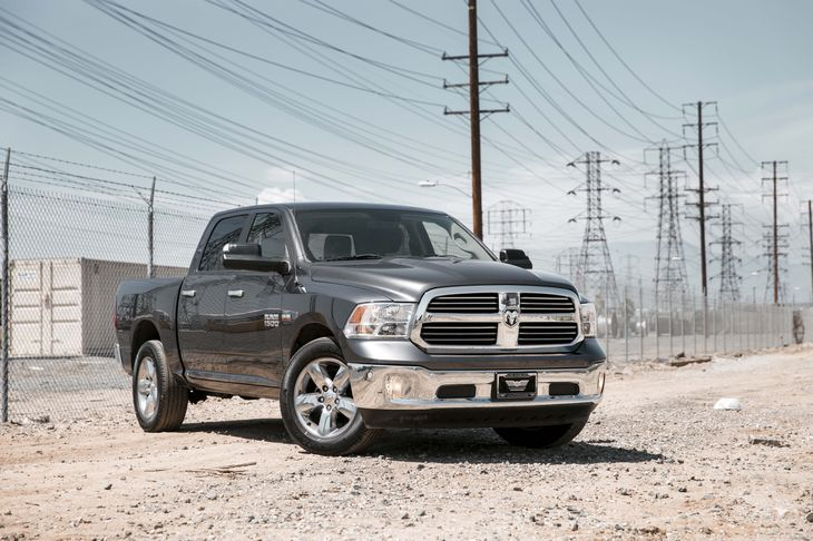 2015 Ram 1500 Big Horn 4-Wheel Disc Brakes W4-Wheel Abs Front Vented Discs Brake Assist And Hil