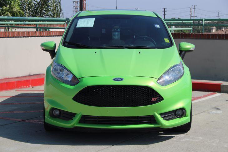 2014 Ford Fiesta ST Navigation St Recaro Package Wheels 17 Rado Gray Premium Painted Green
