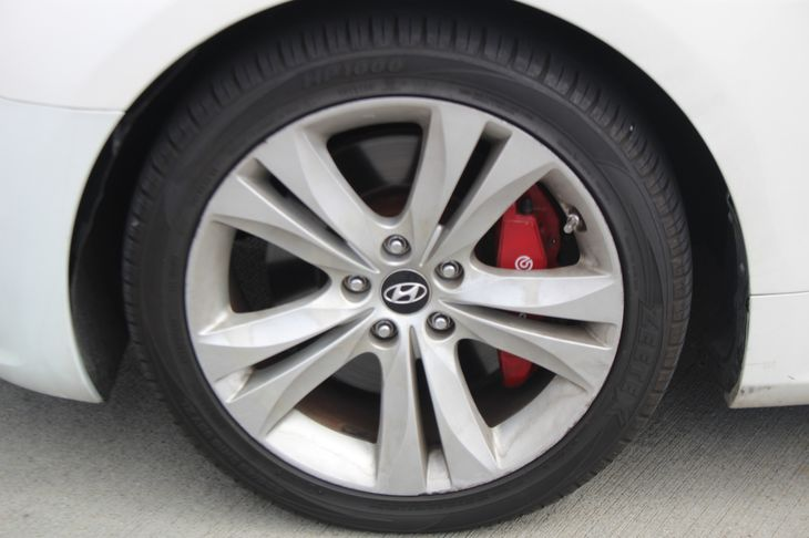2012 Hyundai Genesis Coupe 20T R-Spec  White All advertised prices exclude government fees and