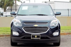 2016 Chevrolet Equinox LT Carfax 1-Owner - No AccidentsDamage Reported  Blue Velvet Metallic