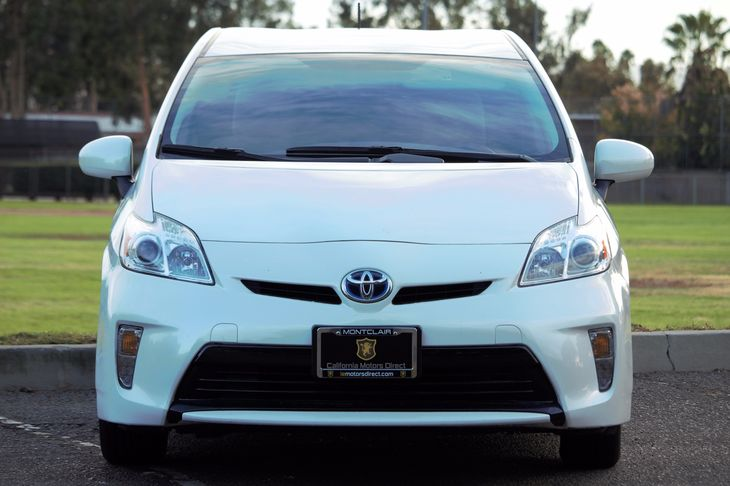 2014 Toyota Prius One  Super White All advertised prices exclude government fees and taxes any