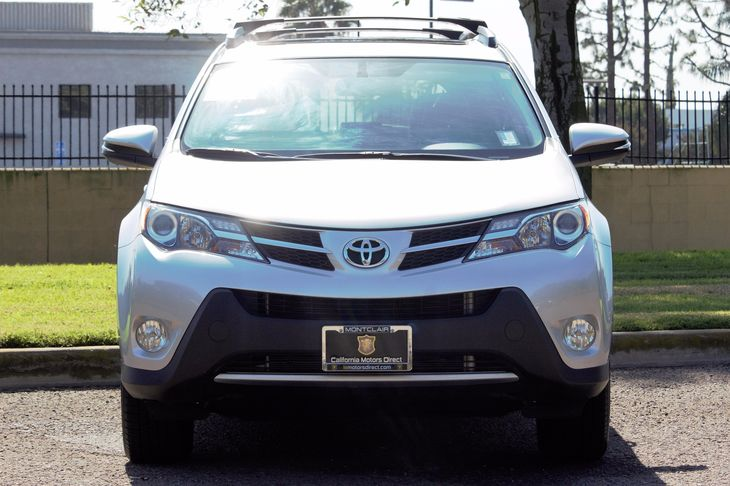2014 Toyota RAV4 Limited Audio Auxiliary Audio Input Audio Cd Player Convenience Automatic He