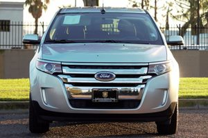 2014 Ford Edge SEL Carfax 1-Owner  Ingot Silver Metallic  We are not responsible for typograph