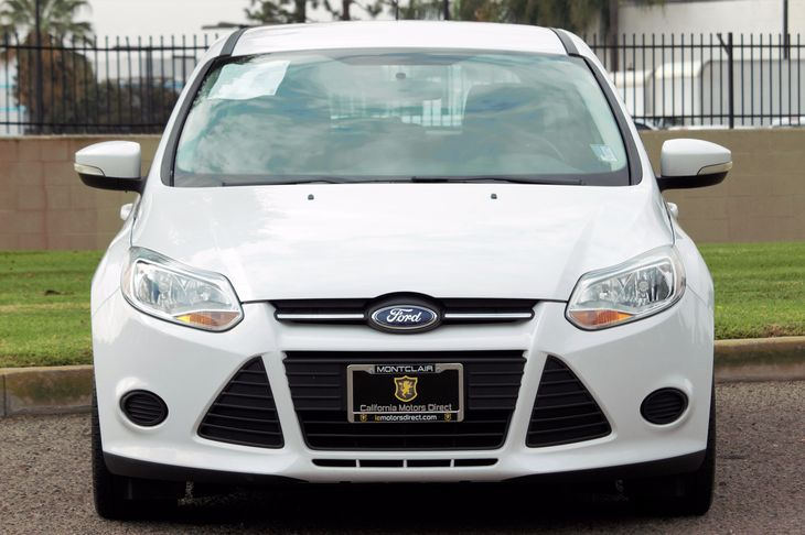 2014 Ford Focus SE Audio Cd Player Convenience Automatic Headlights Drivetrain Front Wheel Dr