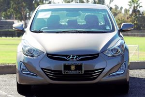 2014 Hyundai Elantra Limited Carfax 1-Owner  BROWN  We are not responsible for typographical e