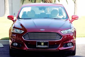 2014 Ford Fusion Energi Titanium Carfax 1-Owner  Ruby Red Metallic Tinted Clearco  We are not