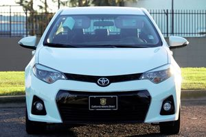 2015 Toyota Corolla S  Super White  All advertised prices exclude government fees and taxes an
