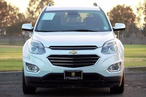 2016 Chevrolet Equinox LTZ  Summit White  All advertised prices exclude government fees and tax