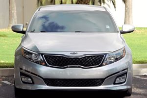 2015 Kia Optima EX Carfax 1-Owner  Silver  We are not responsible for typographical errors Al