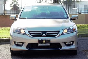 2014 Honda Accord Sedan Sport Carfax 1-Owner  Beige  We are not responsible for typographical