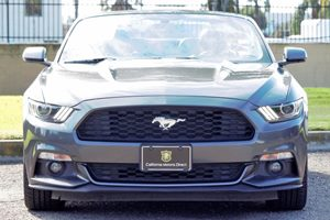 2016 Ford Mustang EcoBoost Premium Carfax 1-Owner  Gray  We are not responsible for typographi